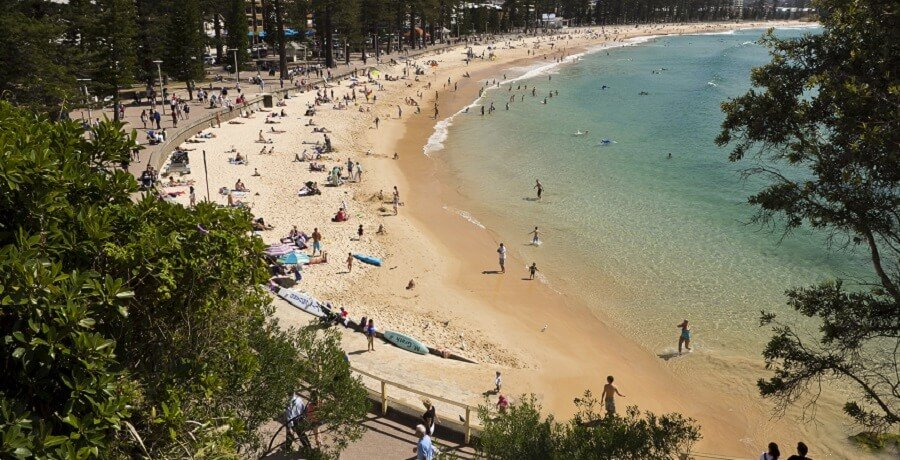Manly Beach - Sydney City Tour