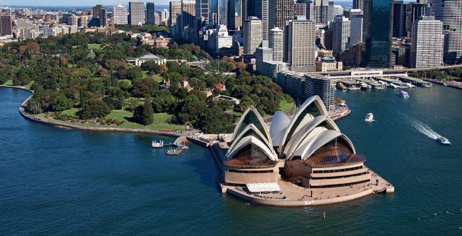 Sydney - Harbour Ariel