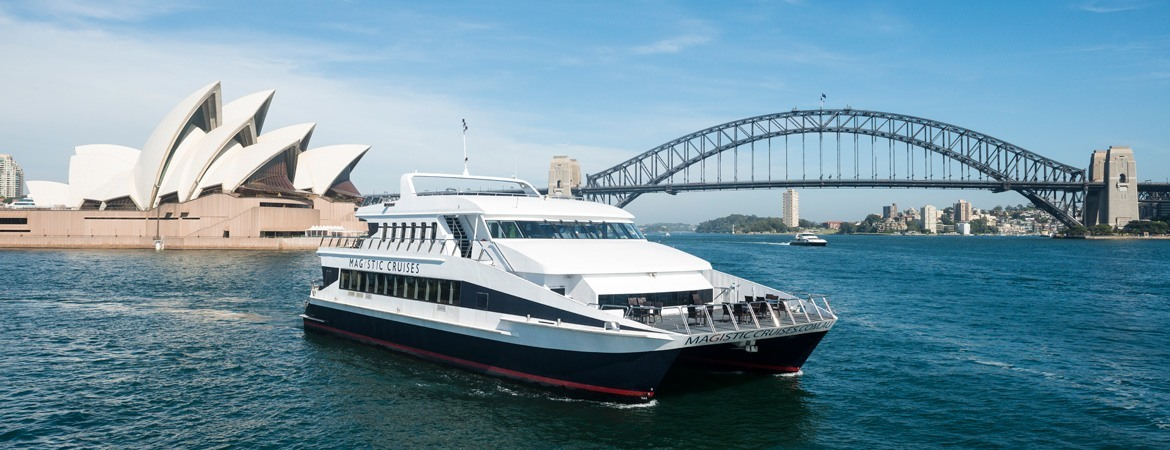 Sydney Harbour Luncheon Cruise with Magistic Cruises