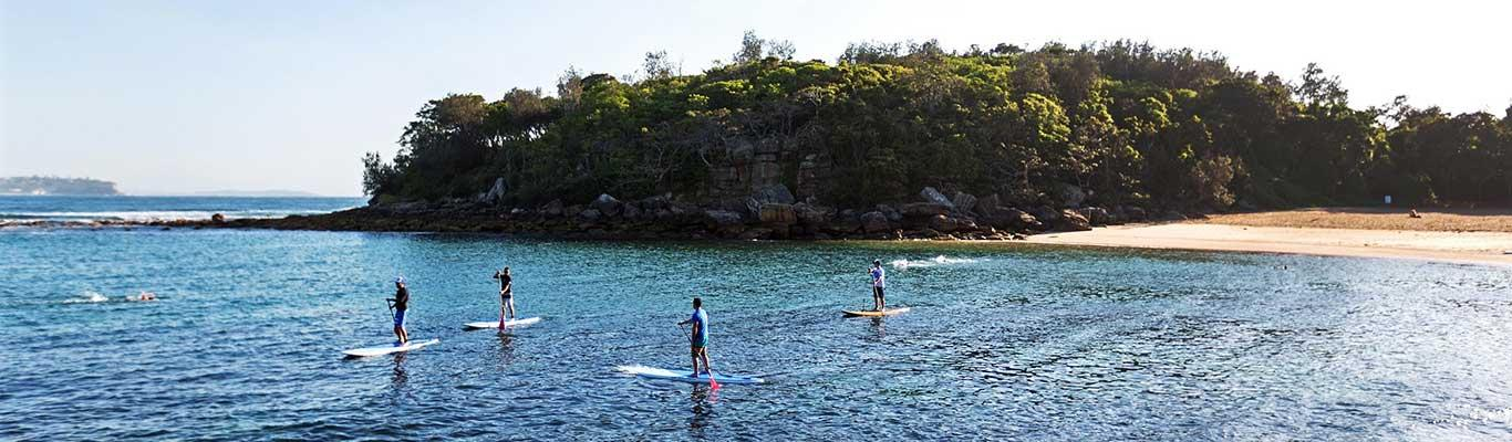Surfing and Scuba Diving at Sydney's Manly Beach