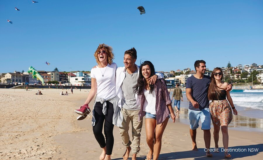 Bondi Beach Group DESTINATION NSW