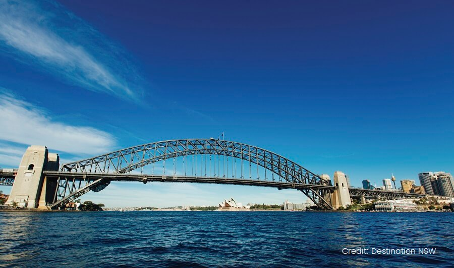 Sydney Harbour Bridge, Sydney DESTINATION NSW