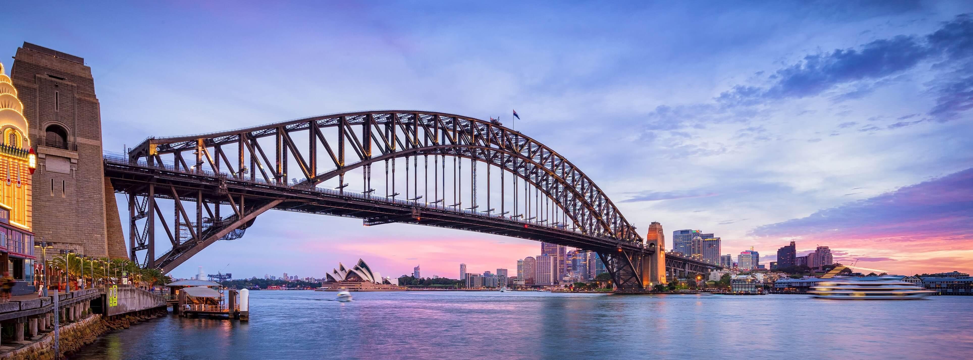 How old is the Sydney Harbour Bridge?
