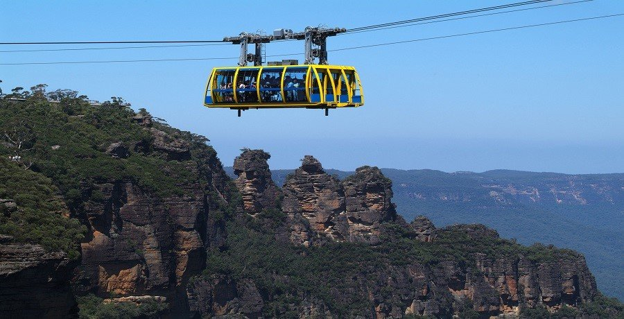 cableway scenic world