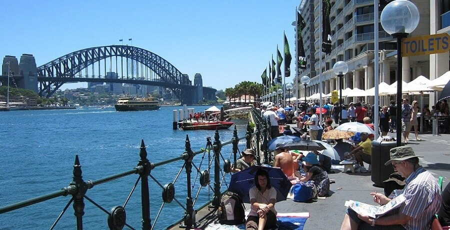 sydney city harbour view