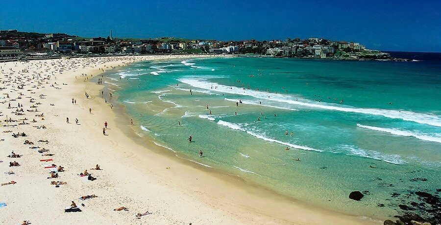 the bondi beach